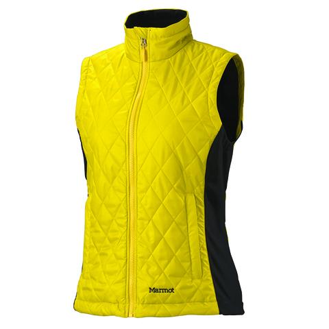 Marmot Women's Kitzbuhel Vest - Yellow Vapor