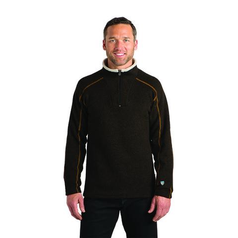 Kuhl Men's Europa Quarter Zip Pullover - Charcoal