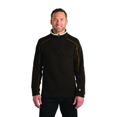 Kuhl Men's Europa Quarter Zip Pullover - Charcoal