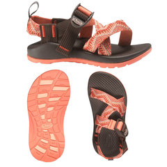 Chaco Z/1 EcoTread Kid's Sandals Beaded Rose