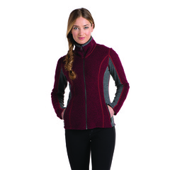 Kuhl Women's Kozet Full-Zip Jacket - Port