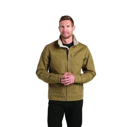 Kuhl Men's Lined Burr Jacket - Khaki