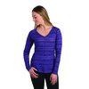 Kuhl Women's Bella Long Sleeve Shirt - Eggplant Stripe