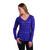Kuhl Women's Bella Long Sleeve Shirt - Eggplant Stripe