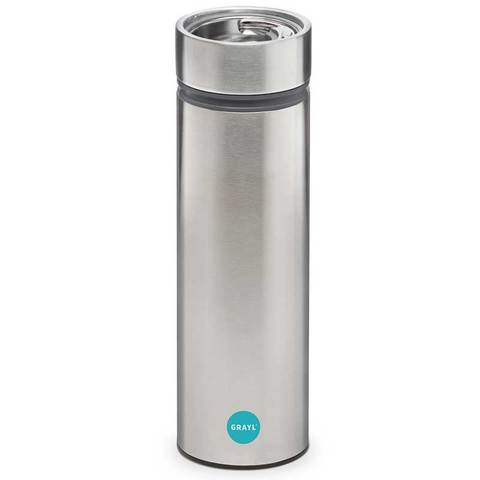 Grayl Stainless-Steel Water Filtration Cup Steel-Gray