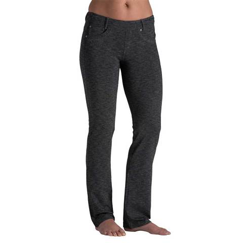 Kuhl Women's Mova Straight Pant - Dark Heather