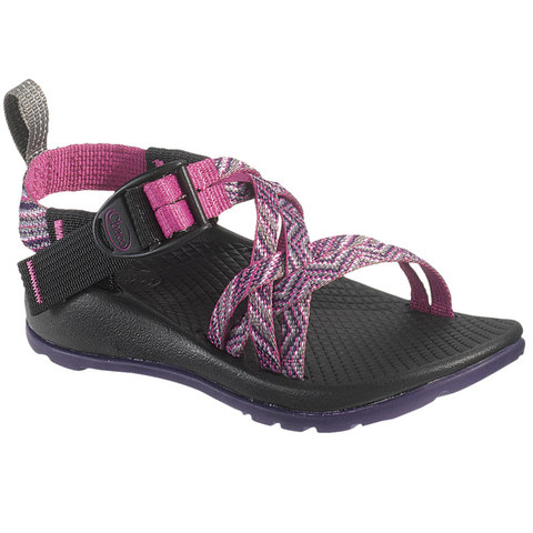 Chaco ZX/1 EcoTread Kid's Sandals - Faded Pink Rose