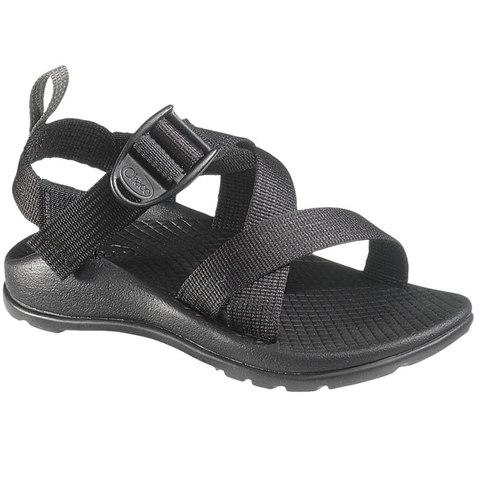 Chaco Z/1 EcoTread Kid's Sandals - Black