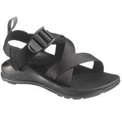 Chaco Z/1 EcoTread Kid's Sandals - Black