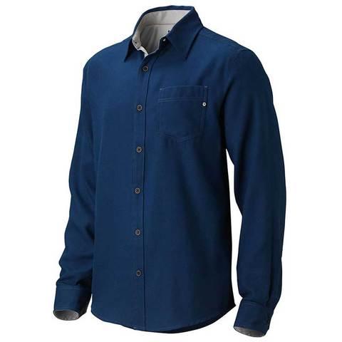 Marmot Hobson Flannel Long Sleeve Shirt - Dark Ink