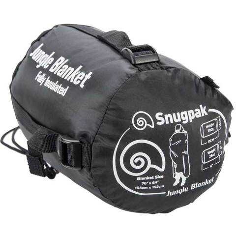 Snugpak Insulated Jungle Blanket - Black