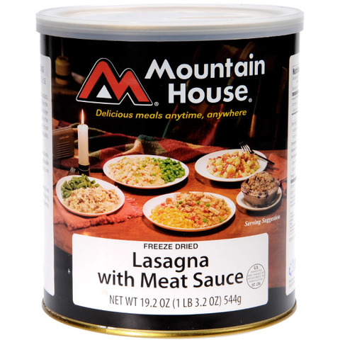 Mountain House #10 Cans Lasagna