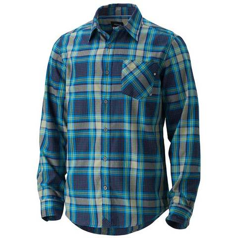 Marmot Doheny Flannel LS Shirt - Dark Indigo