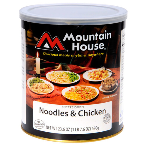 Mountain House #10 Cans-Noodles & Chicken