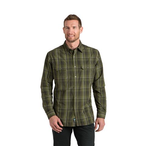 Kuhl Men's Response Long-Sleeve Shirt - Forest