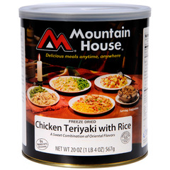 Mountain House #10 Cans-Chicken Teriyaki