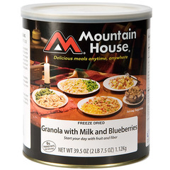 Mountain House #10 Cans-Granola w/Blueberries
