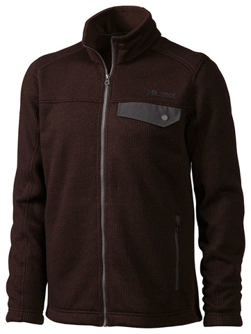 Marmot Men's Poacher Pile Jacket - Rich Brown Heather