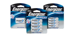 Energizer Lithium AAA Batteries 2-Pack