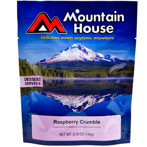 Mountain House Raspberry Crumble Dessert-Serves 4