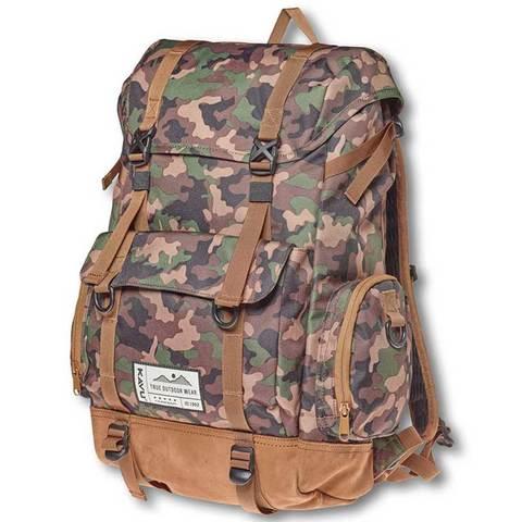 Kavu Camp Sherman Backpack - Camo