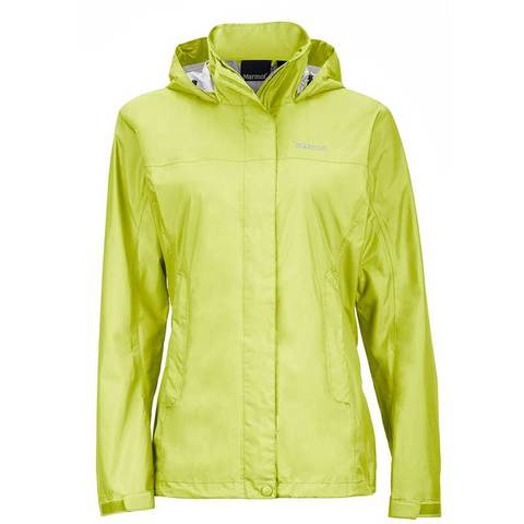 Marmot Women's PreCip Jacket - Citrus Ice