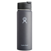 Hydro Flask Wide Mouth 20 oz. Stainless Steel Bottle-Hydro Flip Graphite