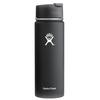 Hydro Flask Wide Mouth 20 oz. Stainless Steel Bottle-Hydro Flip Black Butte