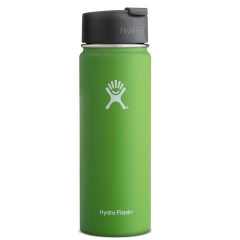 Hydro Flask Wide Mouth 20 oz. Stainless Steel Bottle-Hydro Flip Kiwi