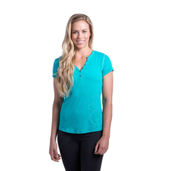 Kuhl Women's Henley Mountain Jade