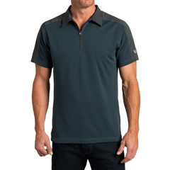 Kuhl Men's Shadow Polo - Pirate Blue