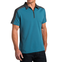 Kuhl Men's Shadow Polo - Lake Blue