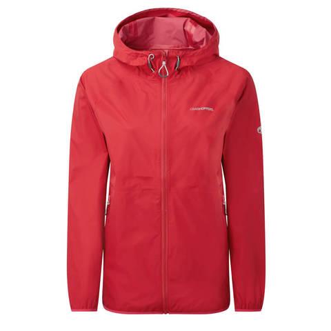 Craghoppers Women's ProLite Waterproof Jacket - Fiesta Red