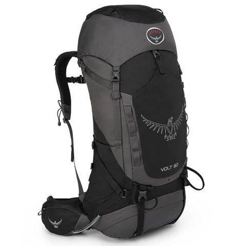 Osprey Volt 60 Backpack-Tar Black