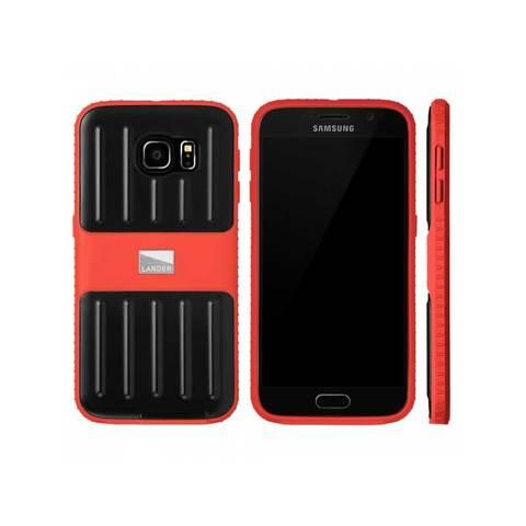 Lander Powell Galaxy 6 Phone Case Red