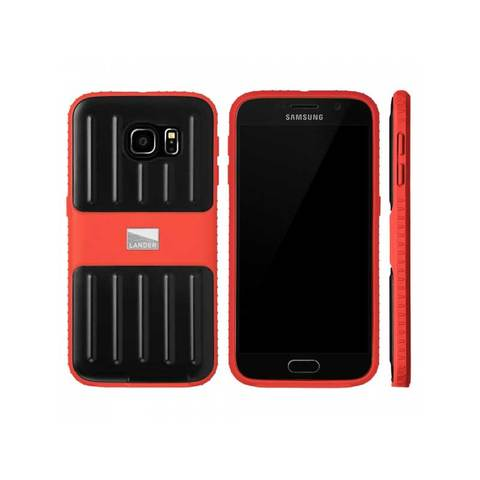 Lander Powell Galaxy 6 Phone Case Red