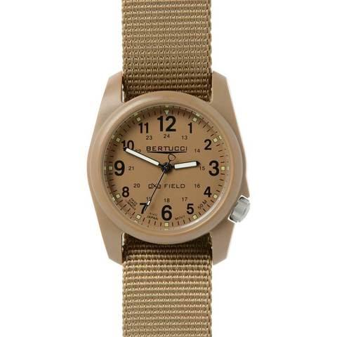 Bertucci DX3 Field Khaki / Coyote Watch