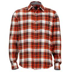 Marmot Men's Fairfax Flannel Long Sleeve - Brick