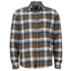 Marmot Men's Fairfax Flannel Long Sleeve - Vintage Navy