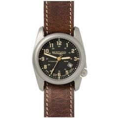 Bertucci 12712 A-2T Field Performance Watch - Black/Leather