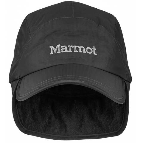 Marmot PreCip Insulated Baseball Cap - Black