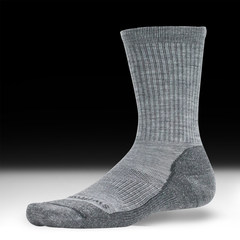Swiftwick Pursuit Hike - Light Cushion Socks - Heather Gray