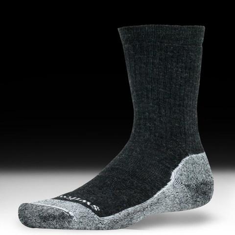 Swiftwick Pursuit Hike - Medium Cushion Socks - Coal-White