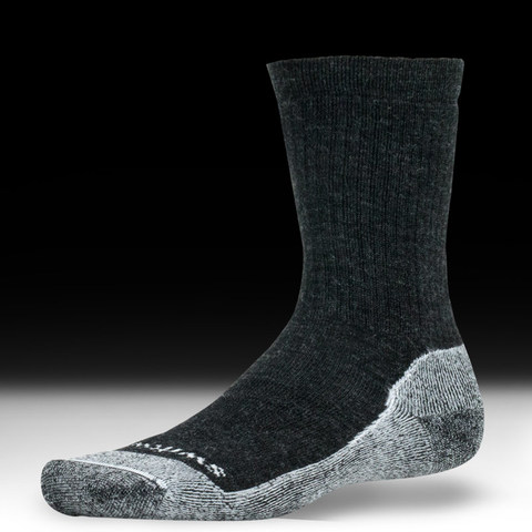 Swiftwick Pursuit Hike - Medium Cushion Socks - Coal-White