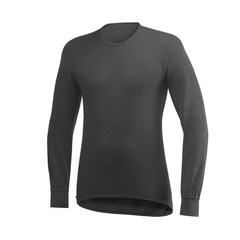 Woolpower Crewneck 200 - Black