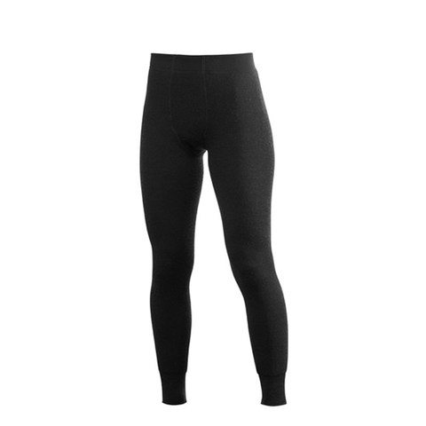 Woolpower Long Johns 200 – No Fly - Black