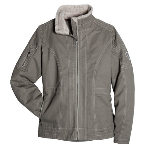 Kuhl Women's Lined Burr Jacket - Light Khaki