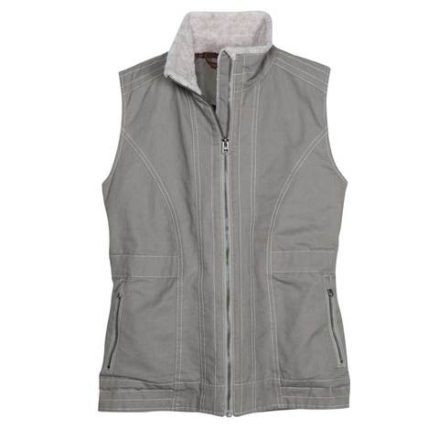 Kuhl Women's Burr Vest Lined - Light Khaki