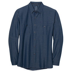 Kuhl Men's Long Sleeve Renegade Shirt - Pirate Blue