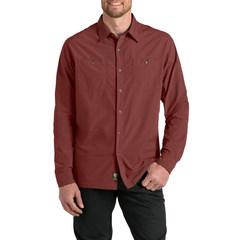 Kuhl Men's Bakbone Long-Sleeve Shirt - Rusted Sun